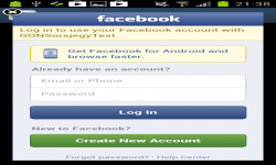Facebook Login forum HTML code